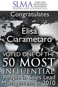 Top 50 most influential in Sales Lead Management