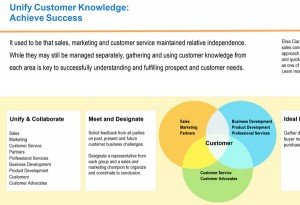 Unify Customer Knowledge