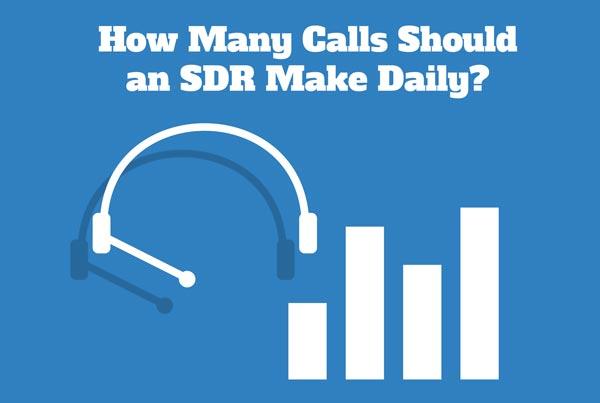 How many sales calls should a representative make?