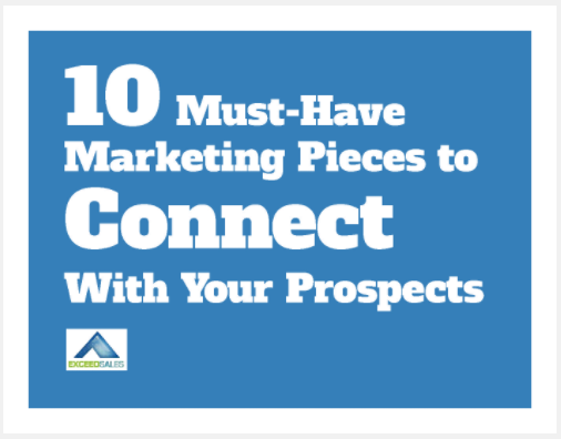 10 must-have marketing pieces